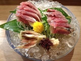 よね崎地酒地魚旬菜 - さんま刺