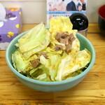 ラーメン六角家 - キャベチャー 100円