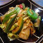 季節野菜の甘辛スタミナ炒め