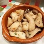 バル・イスパニヤ - ホタテとエリンギのバターソテー