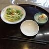魚芳 旬鮮道場 - 料理写真:サラダと冷やっこ
