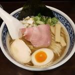 寿製麺 よしかわ - ・「一番搾りの煮干しそば(¥810)」