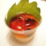 ピネード - 加賀棒茶のゼリー(529円)