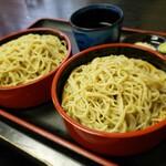 味彩 - 料理写真:八ヶ岳産石臼挽き蕎麦