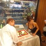 ビストロ ダイア - レニエの特製ケーキ