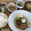 ラクダカフェ - 料理写真:Aランチ♬ 900円 和風あんかけハンバーグ