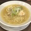 Menyarenren - 料理写真:鷄塩ラーメン 600円