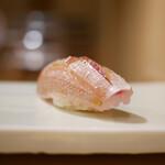 東麻布 天本 - 春子鯛