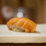 東麻布 天本 - 桜鱒