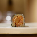 東麻布 天本 - 赤貝紐巻き