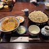 ほりのうち - 料理写真:天丼定食 蕎麦大盛