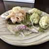 オステリア ラ フェニーチェ - 料理写真:ランチセット(税込み1250円)の前菜