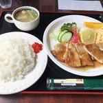 150575831 - 豚肉の生姜焼き