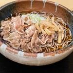 蕎麦とお酒 そばいち - 肉そば ¥750