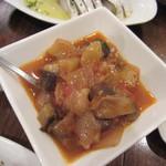 Bar Nogawa - 洋野菜のトマト煮・トマトの酸味の強くないトマト煮