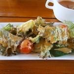 リストランテハック - ファーム野菜のサラダ