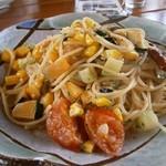 リストランテハック - ファーム野菜とアンチョビのオイル系パスタ