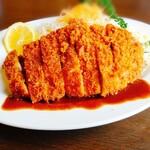 きっちん成田 - 料理写真:上ロースカツ定食