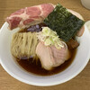 王者-23 - 料理写真:鴨出汁中華そば ローストポークのトッピング