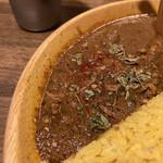 150585832 - 煮干し出汁と鶏セセリカリー