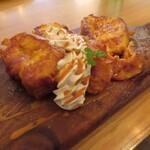 Ωcafe - 特製フレンチトースト(キャラメルソース)
