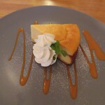 Ωcafe - コシヒカリのベイクドチーズケーキ