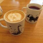 Ωcafe - カップの図柄