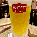 SCHMATZ - ドイツビールって日本のビールより味わいが深いというか余計な味がしないのが好き