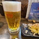 守禮門 - オリオンビール生中
