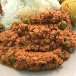 150596909 - 程良い辛味とひき肉の食感を味わえるキーマ