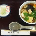 功徳庵 更科 - おかめ蕎麦(旧店舗)