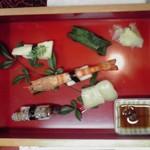 功徳庵 更科 - 蕎麦寿司(旧店舗)