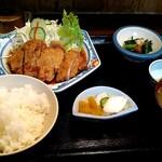 福泉 - 料理写真:生姜焼き定食