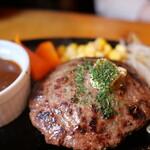 ステーキハウススフィーダ - ハンバーグステーキ