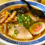 蒲原館 - ラーメン ¥600 煮干し&ガラスープ 王道の中華そばです