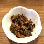 麺通 - 辛子高菜