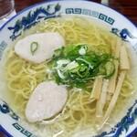 らーめん 青い鳥 - 料理写真:塩ラーメン 800円