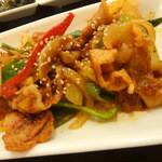 サランチェ - 豚肉甘辛炒め