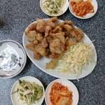 中華料理 桃園 - 料理写真:豚肉の天ぷら