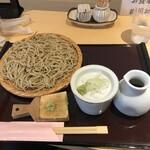 武柳庵 - もり蕎麦+生わさび