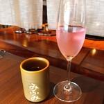 庭園茶寮 みな美 - ☆8.5ビワミン