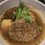 東京ドミニカ - ハンバーグスープカレー
