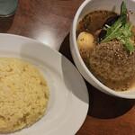 東京ドミニカ - お米も美味しい