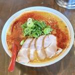 山嵐 - とろとろ味噌赤+チャーシュー ¥1,200