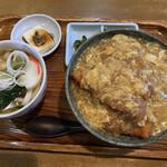 ときわ - カツ丼定食