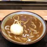 150627877 - カレーうどん 玉子の天ぷら