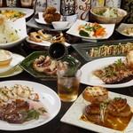 居酒家 Bistro ちゃぶや - 料理写真:3500円コース