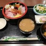 銀座さかなさま - 海鮮ちらし丼定食