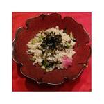 旬の味 絹や - 広島菜バターチャーハン