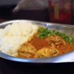 オイシイカレー - 鶏出汁チキンカレー=900円